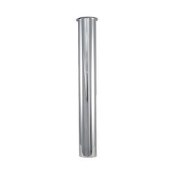 Messing-Bördelrohr - Tauchrohr - für Siphon DN 32 (1 1/4'') - Länge 245 mm - verchromt