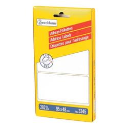282er-Pack Adressaufkleber »3345« weiß, Avery Zweckform