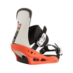 Burton - Freestyle Red/White/ - Snowboard Bindungen - Größe: M (41-44)