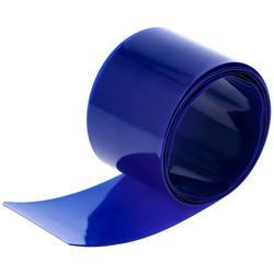 Schrumpfschlauch 32 mm x 0,08 mm Blau (1 Meter)