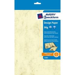 Design-Papiere A4 unbeschichtet 90 g/qm 50 Blatt marmoriert beige