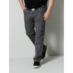 Bi-Stretch Jeans Men Plus Grey