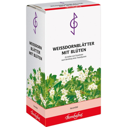 Weissdornblätter m. Blüten Tee