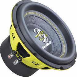 Ground Zero Subwoofer (Ground Zero GZIW 10SPL, 25cm SPL Subwoofer)