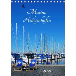 Marina Heiligenhafen (Tischkalender 2021 DIN A5 hoch)