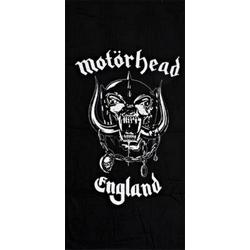 Motörhead Badetuch MOTÖRHEAD HANDTUCH DUSCHTUCH LOGO 100% BW CA:150X75 CM NEU TOP