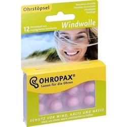 OHROPAX Windwolle 12 St