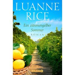 Ein zitronengelber Sommer: eBook von Luanne Rice