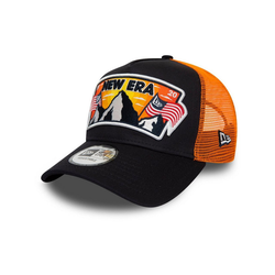 New Era Trucker Cap Trucker USA PATCH