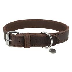 TRIXIE Hunde-Halsband Rustic Fettleder, Leder 2 cm x 48 cm