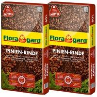 Floragard Pinienrinde mittel 15 bis 25 mm 2 x 60 L