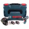 Bosch GDS 12V-115 Professional inkl. 2 x 3,0 Ah + L-Boxx (06019E0103)