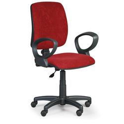 Bürostuhl, schreibtischstuhl torino ii, rot