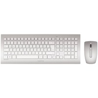Cherry DW 8000 Wireless Tastatur DE Set weiß/silber (JD-0310DE)
