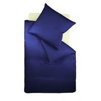 fleuresse Colours 009200 dunkelblau 155 x 200 cm + 80 x 80 cm