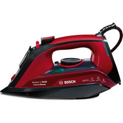 Bosch TDA 503001P, Bügeleisen, Rot, Schwarz