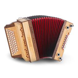 Heimat 4/III Harmonika G-C-F-B MB Erle