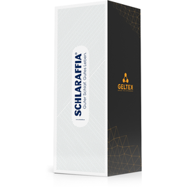 SCHLARAFFIA Geltex Quantum 180 180x200cm H2 inkl. gratis Reisekissen