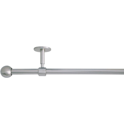 Gardinenstange 2in1, mydeco, Ø 19 mm, 1-läufig, Fixmaß Ø 19 mm x 120 cm - 210 cm