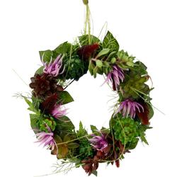 Kunstpflanze Succulente/Protea, I.GE.A., Höhe 8 cm