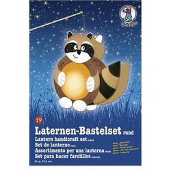 Laternen-Bastelset 19 'Waschbär'