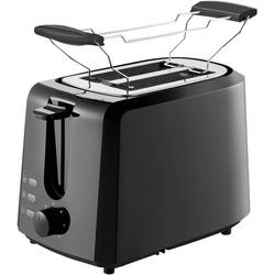 Grundig TA 4620 Toaster mit Brötchenaufsatz Schwarz