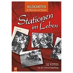 Bildkarten für Menschen mit Demenz: Stationen im Leben, 32 Bildktn.