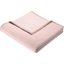 Wohndecke New Cotton, BIEDERLACK, leichte Webdecke rosa
