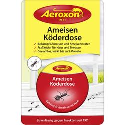 Aeroxon® Ameisen-Köderdosen, Die Ameisen-Köderdose bekämpft Ameisen und Ameisennester im und am Haus, 1 Packung = 1 Dose