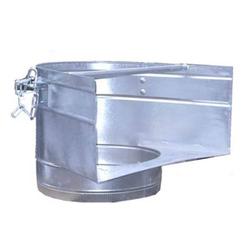 Einfülltrichter für Bauschuttrutschen