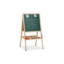relaxdays Standtafel Standtafel Kinder mit Whiteboard