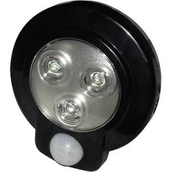 Müller-Licht 57013 LED-Unterbauleuchte mit Bewegungsmelder Schwarz