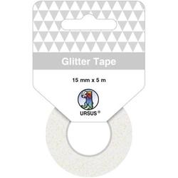 Glitter Tape 15mmx5m weiß