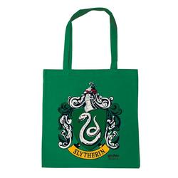 LOGOSHIRT Stoffbeutel mit Slytherin-Motiv grün