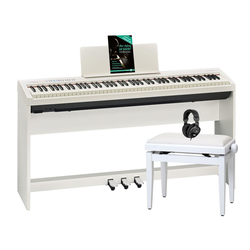 Roland FP-30 WH Stagepiano Home Set Weiß