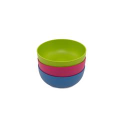 ajaa! Kindergeschirr-Set Bio Schale 100% natürlich (1-tlg), Zuckerrohr, 100% natürlich rosa