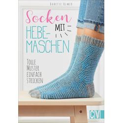 Socken mit Hebemaschen als Buch von Babette Ulmer