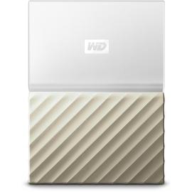Western Digital My Passport Ultra 1TB USB 3.0 weiß/gold (WDBTLG0010BGD-WESN)
