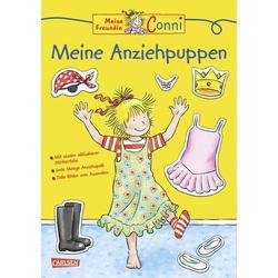 Carlsen Verlag Conni Gelbe Reihe: Meine Anziehpuppen 118358
