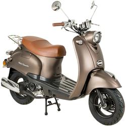 AGM MOTORS Motorroller GMX 460 Retro Classic, 50 ccm, 45 km/h, Euro 4 braun