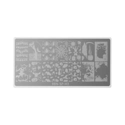 Stamping Plate Special - Halloween Night - Nagel Stempel Schablone Stamping Schablone Nageldesign