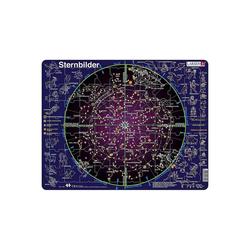 Larsen Puzzle Rahmen-Puzzle, 70 Teile, 36x28 cm, Sternenbilder, Puzzleteile