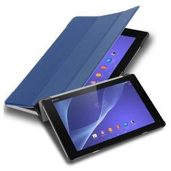 "Cadorabo Tablet-Hülle mit Auto Wake Up und Standfunktion aus Kunstleder, Sony Xperia Tablet Z2 (10.1"" Zoll) SGP521, Cadorabo Hülle für Sony Xperia Tablet Z2 (10.1"" Zoll) SGP521 Book Tablet mit Auto in blau blau"