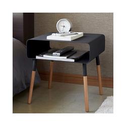 Yamazaki Beistelltisch Plain, Beistelltisch, Sofatisch, Nachttisch schwarz