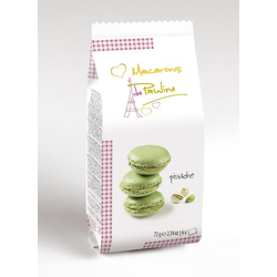 Macarons de Pauline Pistazie Mandel Creme 6 Makronentörtchen 72g