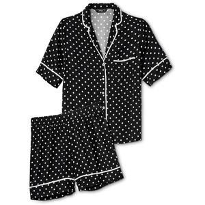 Tchibo - Shorty-Pyjama - Schwarz - Gr.: 40