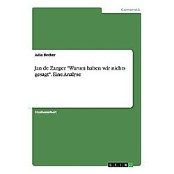 Jan de Zanger -