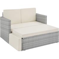 TecTake Korfu Rattan Lounge Variante 2