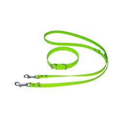HEIM Hunde-Halsband Biothane -Set, Kunststoff, mit Hundeleine 200 cm