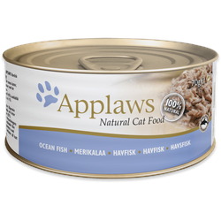 Applaws Seefisch Katzenfutter Nassfutter (24 x 0,07 kg)